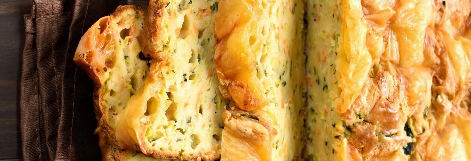 Wortelcourgettebrood