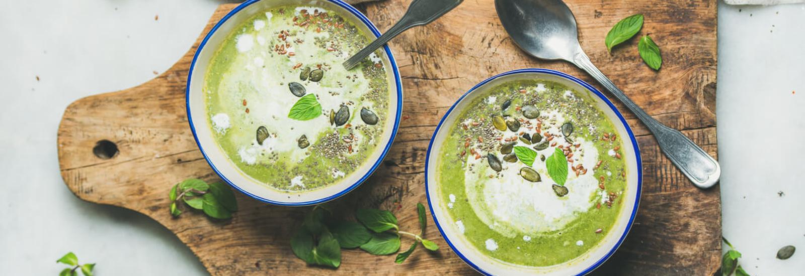 vegetarische broccolisoep
