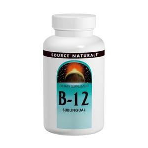 Source Naturals Vitamine B12 2000 mcg zuigtabletten afbeelding