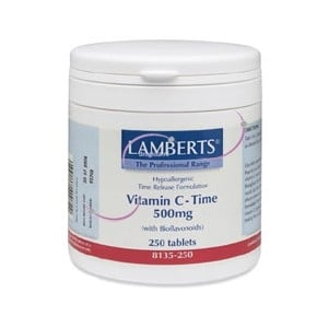 Lamberts Vitamine C 500 Time+ bioflavonoiden afbeelding