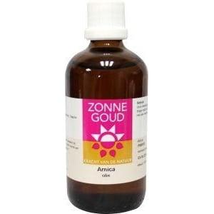 Zonnegoud Arnica olie afbeelding