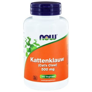 NOW Kattenklauw 500 mg (Cat's Claw) afbeelding
