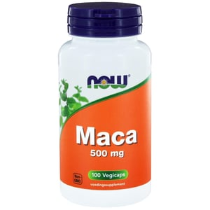 NOW Maca 500 mg  afbeelding