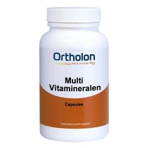 Ortholon Multivitamineralen (in capsules) afbeelding