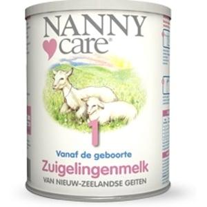 Nannycare NANNYcare Zuigelingenmelk (0 tot 1 jaar) van Nieuw-Zeelandse geiten afbeelding