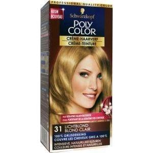 Poly Color Haarverf 31 lichtblond afbeelding