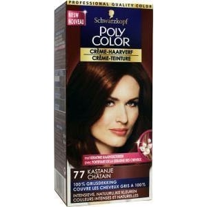 Poly Color Haarverf 77 kastanje afbeelding