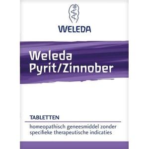 Weleda natuurcosmetica Pyriet zinnober tabletten afbeelding