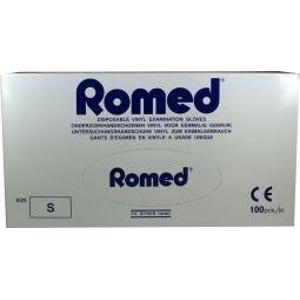 Romed Vinyl handschoen niet steriel gepoederd S afbeelding