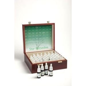Star Remedies Set compleet houten kist afbeelding