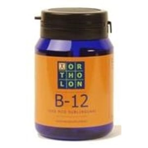 Ortholon Vitamine B12 1000 mcg zuigtabletten afbeelding