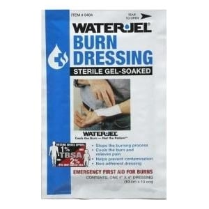 Waterjel Waterjel 10 x 10 kompres steriel gel gedrenkt afbeelding