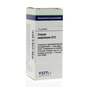 VSM Zincum metallicum D12 afbeelding
