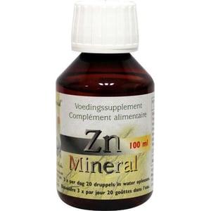Herborist ZN Zink mineral ion afbeelding