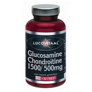 Lucovitaal Glucosamine Chondroïtine 1500/500 mg afbeelding