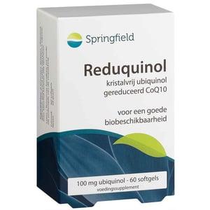 Springfield ReduQuinol 100 mg (ubiquinon, Q10) afbeelding