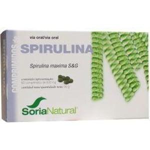 Soria Spirulina maxima 400 18-S afbeelding
