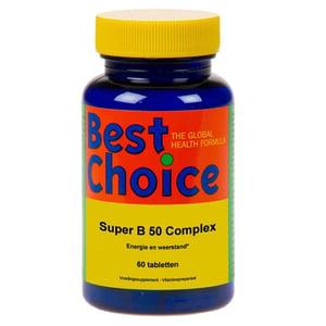 Best Choice Super B50 complex 50 mg afbeelding