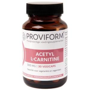 Proviform Acetyl L-carnitine 500 mg afbeelding