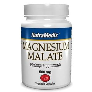 Nutramedix Magnesiummalaat 100 mg afbeelding