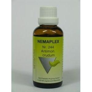 Nestmann Antimonium crudum 244 Nemaplex afbeelding