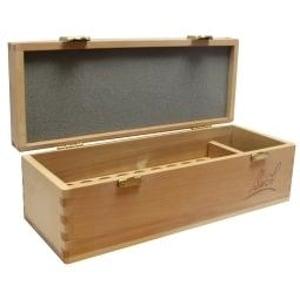 Bach Remedies gesigneerde houten kist afbeelding