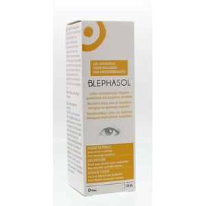 Blephasol Reinigingslotion ooglid afbeelding