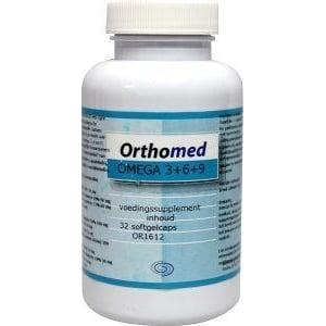 Orthomed Omega 3+6+9 formule afbeelding