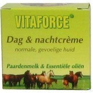 Vitaforce Paardenmelk dag / nachtcreme afbeelding