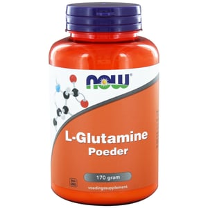 NOW L-Glutamine poeder afbeelding