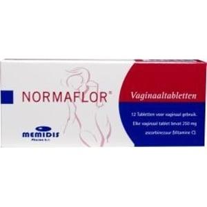 Normaflor Normaflor Vaginaaltabletten afbeelding