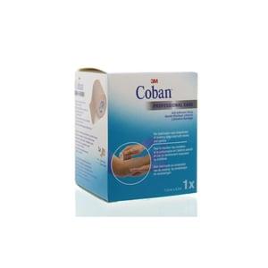 3M Coban zelfklevend zwachtel huidkleur 4.5 m x7.5 cm afbeelding