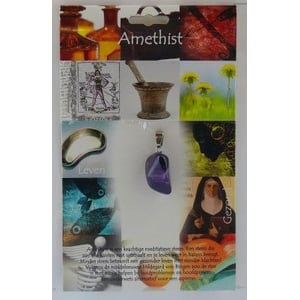 Steengoed Hanger gezondheidssteen amethyst afbeelding