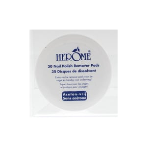 Herome Nagel caring remover pad afbeelding
