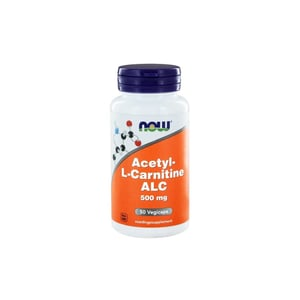 NOW Acetyl L-Carnitine 500 mg afbeelding
