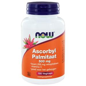 NOW Ascorbyl Palmitaat 500 mg afbeelding