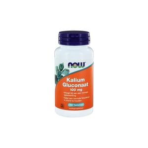 NOW Kalium gluconaat 100 mg afbeelding