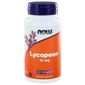 NOW Lycopeen 10 mg afbeelding