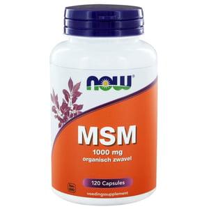 NOW MSM 1000 mg afbeelding