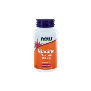 NOW Niacine flush vrij 250 mg afbeelding