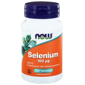 NOW Selenium 100 mcg afbeelding