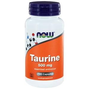 NOW Taurine 500mg afbeelding
