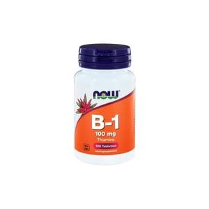 NOW Vitamine B1 100 mg afbeelding