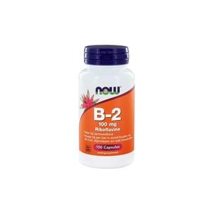 NOW Vitamine B2 100 mg afbeelding