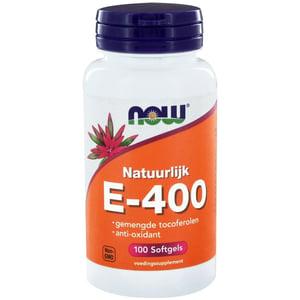 NOW Vitamine E-400 gemengde tocoferolen afbeelding