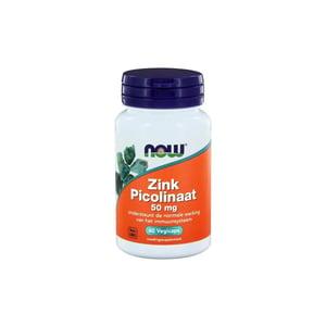 NOW Zink picolinaat 50 mg afbeelding