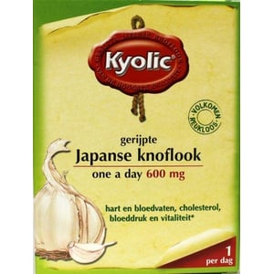 Kyolic Kyolic One A Day Gefermenteerde Knoflook afbeelding