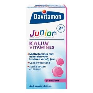 Davitamon Junior Kauwtabletten Framboos afbeelding
