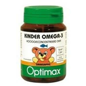 Optimax Kinder Omega-3 DHA+EPA kauwcapsules afbeelding