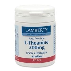 Lamberts L Theanine 200Mg /L8320-60 afbeelding